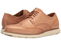 Cole Haan Original Grand Wing Oxford Vachetta Leather Ivory Men's Lace Up Casual Shoes Brown