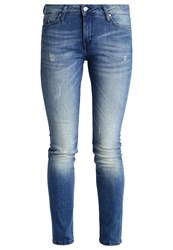 Mustang Jasmin Slim Fit Jeans Stone Stone Blue Denim