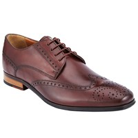 John Lewis Brosnan Leather Lace Up Brogues Rosewood