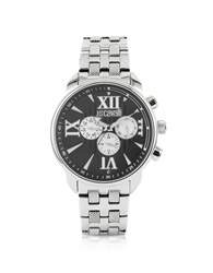 Just Cavalli Earth Black Multifunction Watch