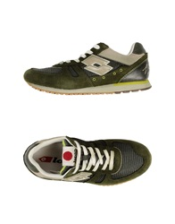 Lotto Leggenda Low Tops And Trainers Emerald Green