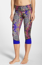 Onzie Spin Capris Koh Tao Royal Blue