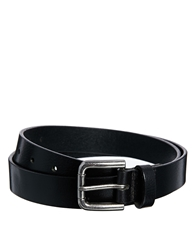 Asos Smart Full Grain Leather Belt Black