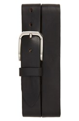 Men's Remo Tulliani 'Gunner' Leather Belt Black