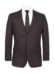 Alexandre Of England Wilmington Speckle Suit Jacket Charcoal