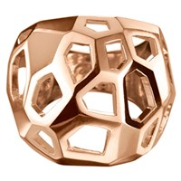 Delphine Leymarie Facets Cage Ring 18K Rose Gold