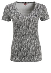 The North Face Simple Dome Print Tshirt Mottled Dark Grey