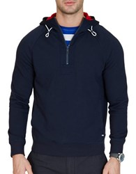 Nautica Slim Fit French Terry Hoodie True Navy