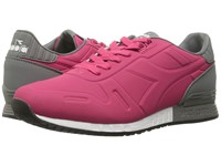 Diadora Titan N Ii Frost Gray Bright Rose Athletic Shoes Pink