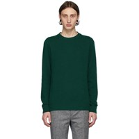 Harmony Green Wool Winston Sweater