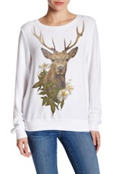 Wildfox Couture Forrest Friend Pullover White