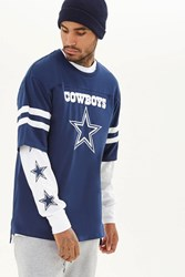 Forever 21 Nfl Dallas Cowboys Tee Blue White