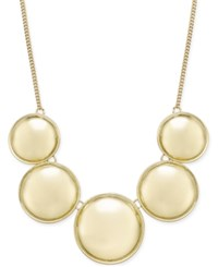 Inc International Concepts Circle Collar Necklace Only At Macy's Gold