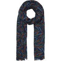 Seasalt Berry Brunch Cotton Scarf Navy Multi