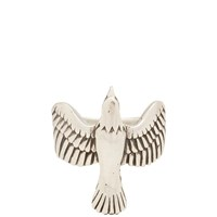 Maple Eagle Ring Silver