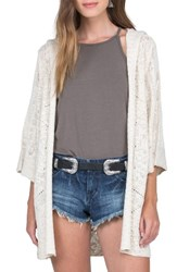Volcom Women's By The Ocean Hooded Cardigan
