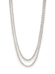 John Hardy Bamboo Sterling Silver Long Sautoir Necklace