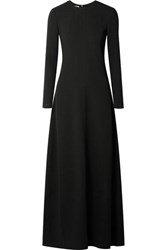Co Georgette Maxi Dress Black