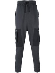 Blood Brother Cargo Track Pants Grey