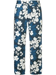 Smythe Hawaii Trousers Blue
