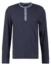 Banana Republic Long Sleeved Top Preppy Navy Blue