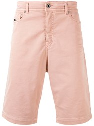 Diesel Black Gold Classic Chino Shorts Pink Purple