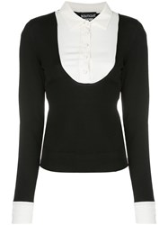Boutique Moschino Contrasting Layer Jumper 60