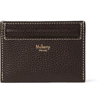 Mulberry Full Grain Leather Cardholder Dark Brown