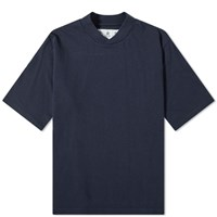 Barbour Houghton Tee White Label Blue