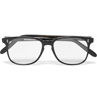 Cutler And Gross Square Frame Acetate Optical Glasses Black