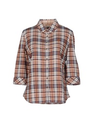 Timberland Shirts Brown