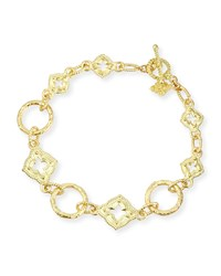 18K Yellow Gold Link Bracelet Armenta Yellow Gold