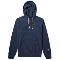 Champion Reverse Weave Classic Popover Hoody Blue