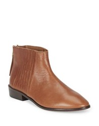 Kenneth Cole Reaction Loopy Leather Booties Tan