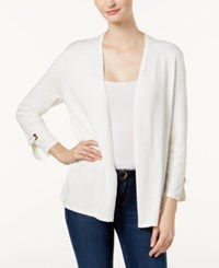 Charter Club Petite Embellished Cardigan Created For Macy's Cloud