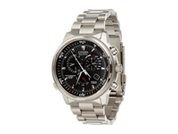Citizen At4110 55E Nighthawk A T Silver Tone Stainless Steel Analog Watches Bronze