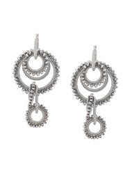 Mignonne Gavigan Intertwined Embellished Hoop Earring 60