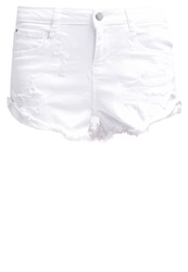 Ltb Amelie Denim Shorts White White Denim