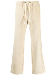 Champion Ribbed Track Trousers Neutrals