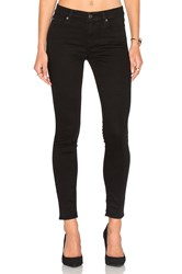 7 For All Mankind Bair Ankle Skinny Black