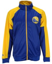 Majestic Men's Golden State Warriors Geo Track Jacket