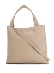 Orciani Jackie Leather Tote Bag 60