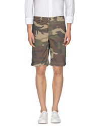 North Sails Trousers Bermuda Shorts Men Military Green