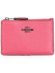 Coach Mini Id Skinny Purse Pink Purple