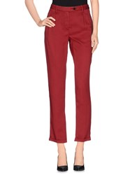 Pence Trousers Casual Trousers Women Brick Red