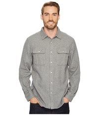 The North Face Long Sleeve Arroyo Flannel Shirt Tnf Medium Grey Heather Long Sleeve Button Up Gray