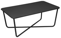 Fermob Croisette Low Table Anthracite Black