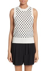 Marc Jacobs Women's Polka Dot Knit Shell