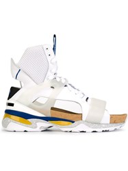 Puma Puma X Mcq 'Tech Runner' Sandals White