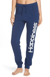 Happiness 'Turca' Jogger Sweatpants Navy
